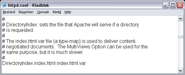 volgende regel html